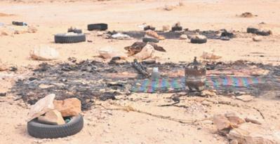 """Le """"butin """" qui trahit l'expédition du Polisario à El Guerguarat"""