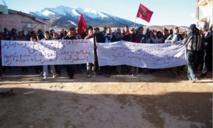 Des habitants du Moyen Atlas marchent sur la capitale : Colère et revendications sous haute surveillance