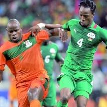 Le Burkina et le Nigeria aux quarts
