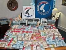 Réseau de blanchiment d'argent-drogue