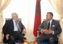 Entretien téléphonique entreS.M le Roi et Mahmoud Abbas
