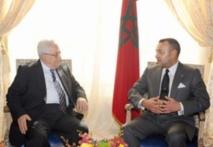 Entretien téléphonique entre S.M le Roi et Mahmoud Abbas