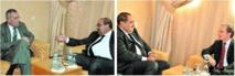 Driss Lahgar reçoit les ambassadeurs d'Espagne et de France