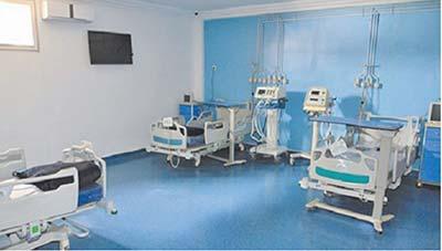 2.260 lits hospitaliers supplémentaires prévus en 2021