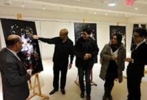 Hamid Bouhioui expose ses toiles à Dar Al-Maghrib à Montréal