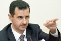 Bachar  Al-Assad accuse Israël de chercher  à déstabiliser la Syrie