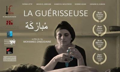 """La Guérisseuse "" de Mohamed Zineddaine, Grand Prix du Festival maghrébin du film d'Oujda"