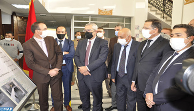Mohamed Benabdelkader inaugure le Centre du juge résident à Dar Ouled Zidouh