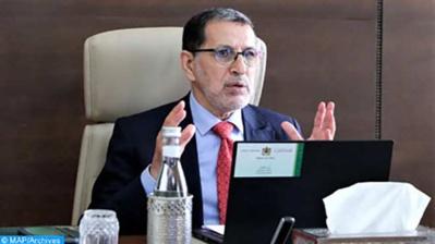 Saad Dine El Otmani : La sécurisation du passage d'El Guerguarat a donné lieu à une réalité diplomatique et politique nouvelle