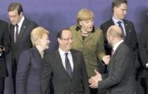 Les Européens  à la recherche d'un  compromis s'accordent