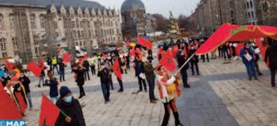 Les Marocains de Wallonie et du Luxembourg se mobilisent pour la défense de la cause nationale