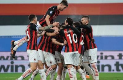 Calcio: L'AC Milan enchaîne les victoire