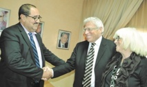Passation des pouvoirs entre Radi et Lachgar