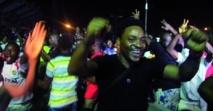 Scènes de liesse au Nigeria