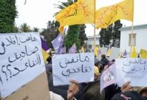 Sit-in à Rabat pour la réforme du système éducatif