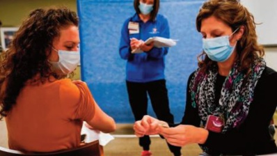 Les États-Unis lancent aujourd'hui la vaccination de masse