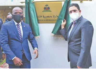 Haïti se dote d' un consulat à Dakhla