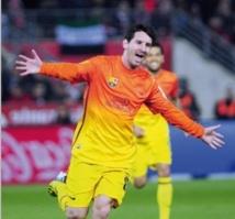 Le Barça sauvé par Messi