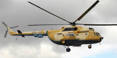Crash d' un hélicoptère militaire en Algérie