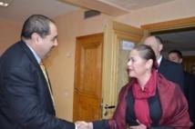 Driss Lachgar reçoit Francesca Panda