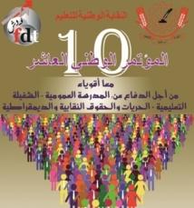 Le Syndicat national de l'enseignement tient son Xème congrès