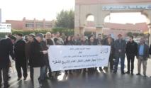Sit-in des inspecteurs  du travail à Safi