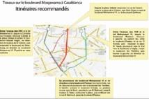 Grosses perturbations du trafic à Casablanca