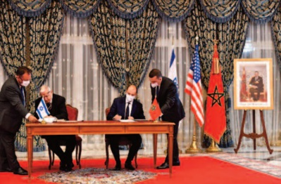 S.M le Roi reçoit le conseiller principal du président Trump et la délégation israélienne qui l'accompagne