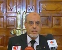 Le Premier ministre tunisien Hamadi Jebali ne rempile pas