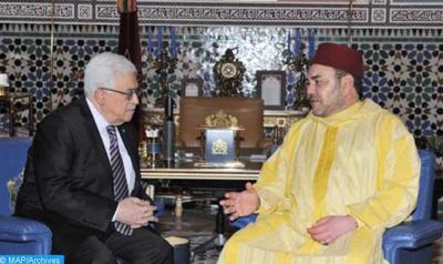 S.M le Roi réitère la position constante du Maroc en faveur de la cause palestinienne
