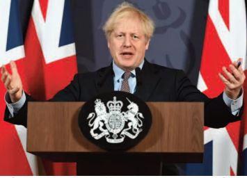 Après l'accord avec l'UE, les Britanniques espèrent tourner la page du Brexit