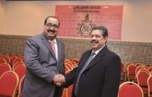 L'USFP et l'UGTM  décident de coordonner leurs actions : Rencontre entre Driss Lachgar et Hamid Chabat