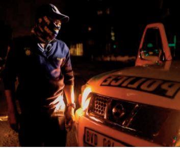 Coronavirus: Tolérance zéro dans les rues de Johannesburg sous couvre-feu