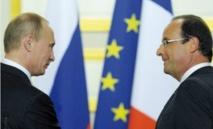 Le président Hollande à Moscou pour dégeler ses relations avec Poutine