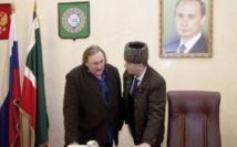 Depardieu veut tourner un film en Tchétchénie