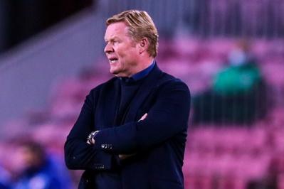 Koeman a encore besoin de temps pour imposer ses idées au Barça