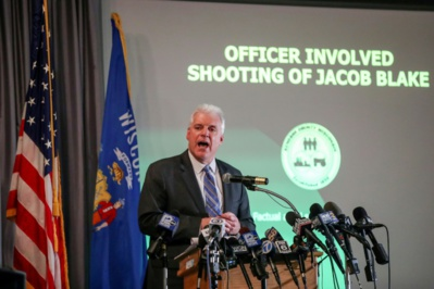 Aux Etats-Unis, pas de poursuites contre le policier qui a tiré sur Jacob Blake