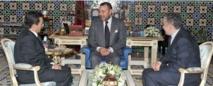 SM le Roi se félicite de l'esprit de la démarche et de la teneur des rapports thématiques du CNDH