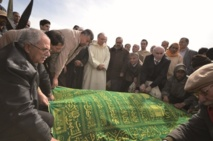 Les obsèques de la mère de Khalid Alioua