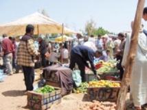 Affrontement entre les forces de l'ordre et les marchands de Souk Larbâa à Casablanca