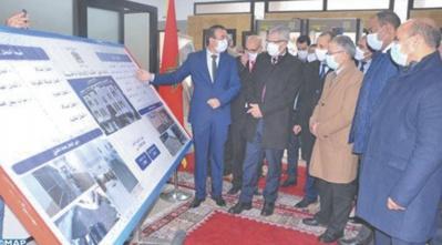 Mohamed Benabdelkader visite les chantiers de réhabilitation du tribunal de première instance et de la Cour d'appel d'Al Hoceima