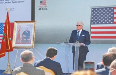 David Fischer: Appui sans faille au processus d'ouverture du consulat américain