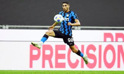 Sixième but de la saison pour Achraf Hakimi