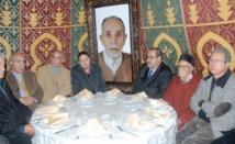 Driss Lachgar rend visite à la famille Oukadda