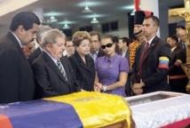 Chefs d'Etat latino-américains et alliés controversés aux obsèques d'Hugo Chavez