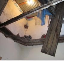 Effondrement d'une maison en ancienne médina deCasablanca