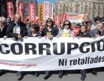 Manifestation contre  le chômage et l'austérité en Espagne