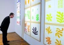 Les papiers découpés de Matisse à l'honneur en France