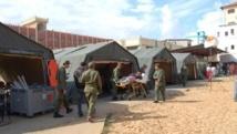 Retour de Gaza d'une mission médicale marocaine
