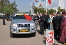 Le neuvième rallye automobile  national du corps diplomatique sous  le thème de l'amitié maroco-polonaise